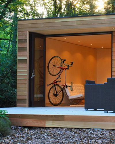 The CLUG is an easy and elegant way to store bikes.