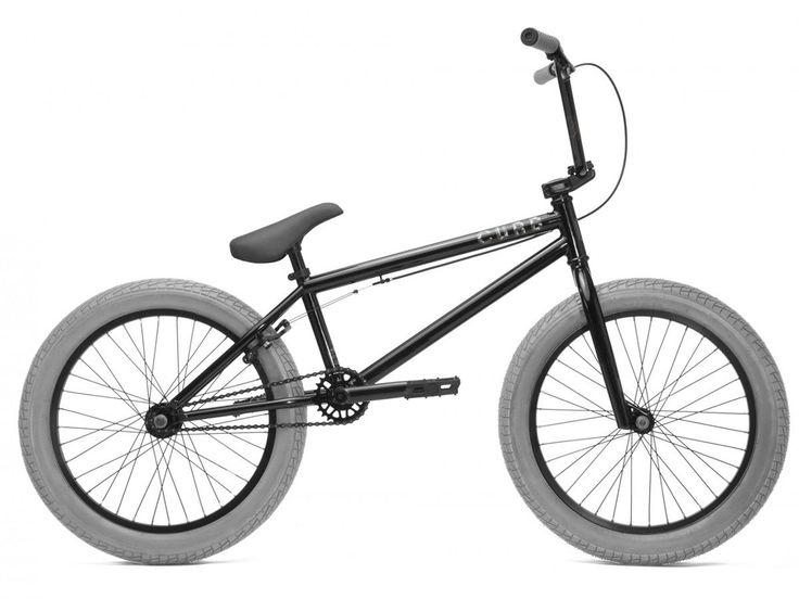 "Kink Bikes ""Curb"" 2017 BMX Bike - Gloss Black | kunstform BMX Shop & Mailorder - worldwide shipping"
