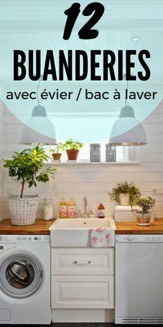 12 Idées de Buanderies Avec Évier et Bac à Laver  http://www.homelisty.com/buanderies-evier-bac-a-laver/