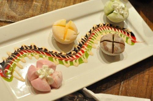 Mochi dessert! At YUZU chicago