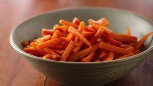 Brown Sugar Glazed Carrots