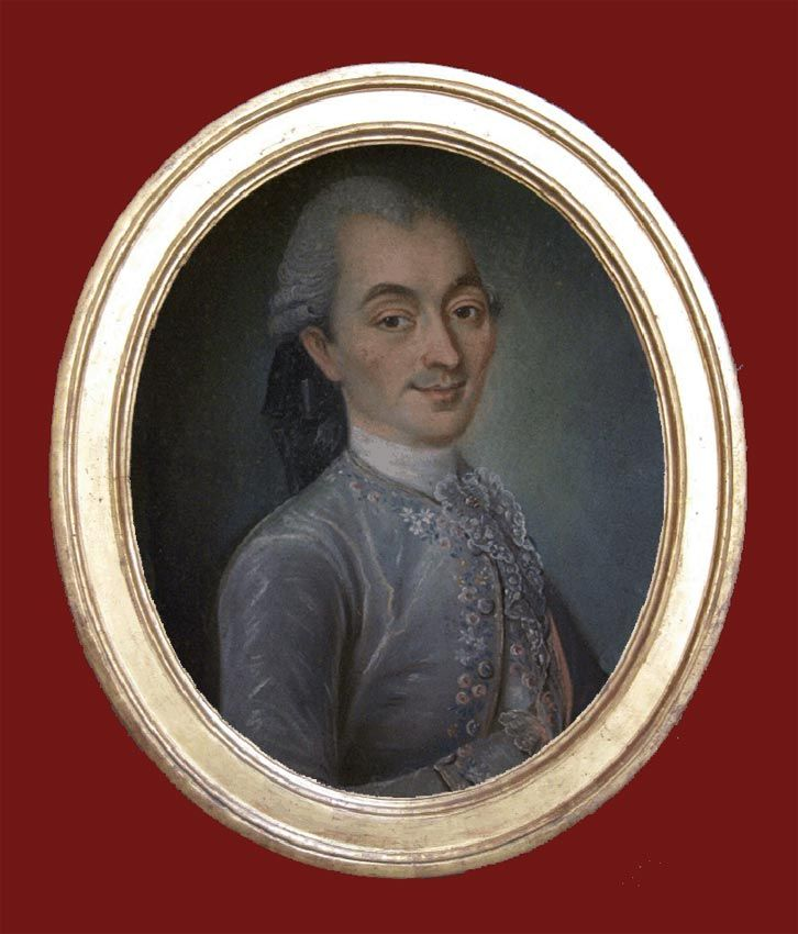Louis Anne Alexandre de Biaudos, Marquis de Castéja (1736 - 1808).