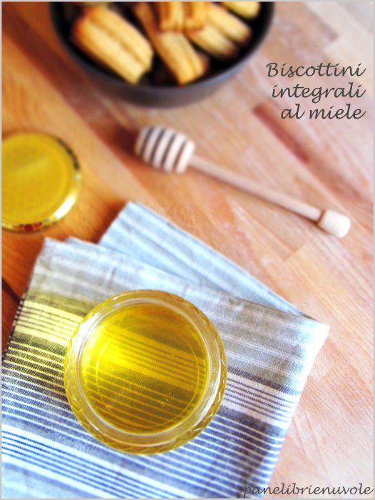 Doppi bastoncini integrali al miele