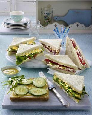Sandwich Remoulade, Eiern, Salat und Tomate Rezept