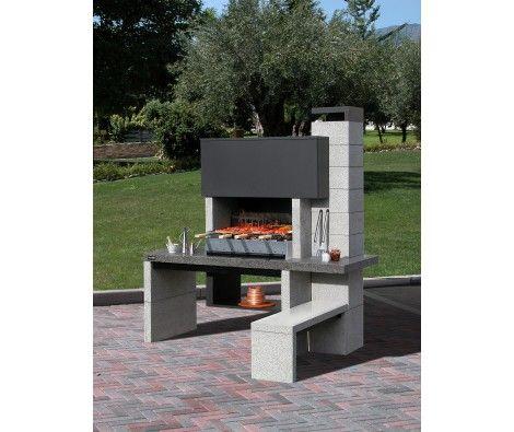 terrasse composite barbecue