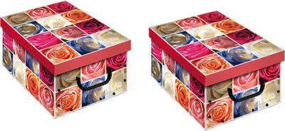 Artra Ordnungsboxen Deko Karton 2er SET Box Clip Square roses Aufbewahrungsbox für Haushalt Büro Wäsche Geschenkbox Dekokarton Sammelbox Mehrzweckbox Ordnungskarton Ordnungsbox Geschenkekarton Jetzt bestellen unter: https://moebel.ladendirekt.de/dekoration/aufbewahrung/kaestchen/?uid=d48efb65-5af6-5fea-96bf-0c4fa39b4f45&utm_source=pinterest&utm_medium=pin&utm_campaign=boards #heim #aufbewahrung #kaestchen #dekoration