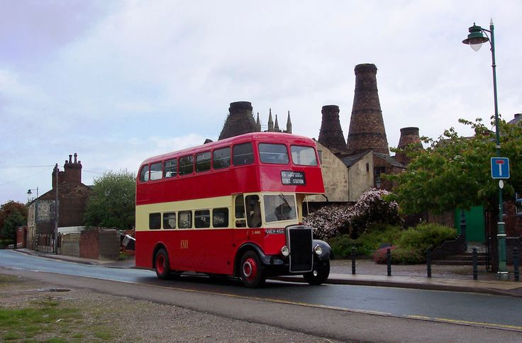 Bus type unknown Group PMT - Potteries Motor Transport -Stoke on Trent back in the Day :)