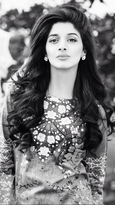 Mawra Hocane, A Pakistani Actress.