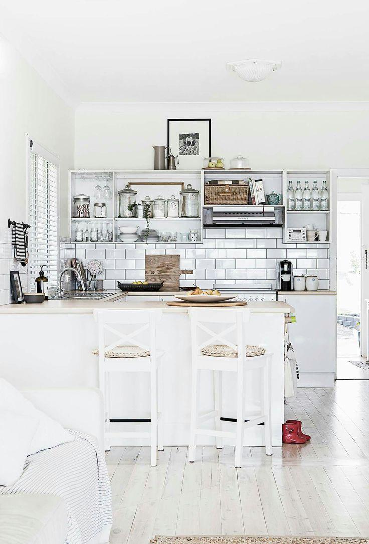 47 best White Kitchen Ideas & Decor images on Pinterest | Kitchen ...