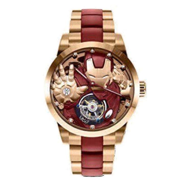 Memorigin Iron Man Collector Tourbillon Watch