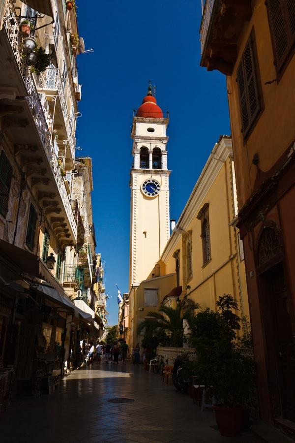 Agios Spyridonas, Corfu, Greece