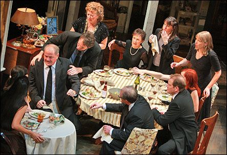 August: Osage County on Broadway.