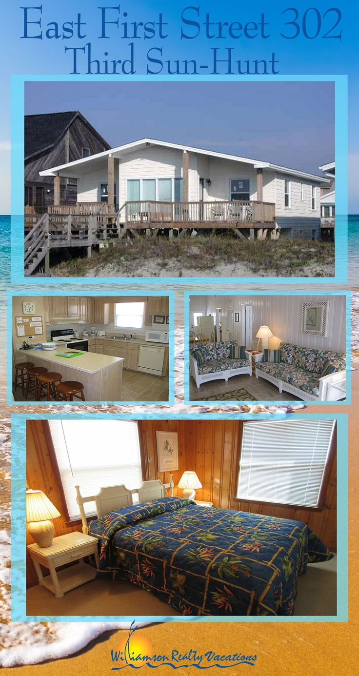 THE WEEK OF JUNE 10 TO JUNE 17 HAS BEEN DISCOUNTED at 302 East First Street in Ocean Isle Beach. This oceanfront vacation rental features five bedrooms and three bathrooms!