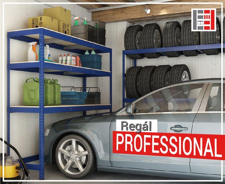 Hľadáte regály s vysokou nosnosťou? Ako najlepšie ušetriť priestor bez obáv z poškodenia? Regály PROFESSIONAL z dielne Majster Regál sú presne to, čo potrebujete. Silná stavba, hrubá oceľ a záťaž 350 kg na jednu policu. Vhodné do skladov, obchodov a garáží. Dajte svojmu skladu nádych profesionality! https://www.majster-regal.sk/professional-regaly/350kg-na-policu.html #majsterregal #professional #regál #sklad #garáž