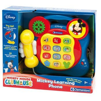 Disney Clementoni Mickey Mouse Telephone