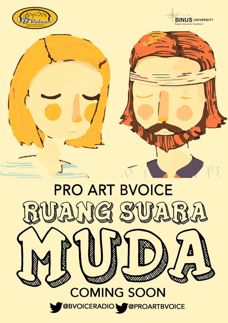 Pro Art(Profil Artis) BVoice Radio: Ruang Suara Muda http://bit.ly/1bBautt