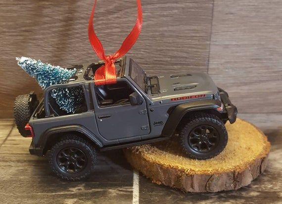 Rubicon Jeep Wrangler Jl Christmas Ornament Jeep Rubicon Jeep