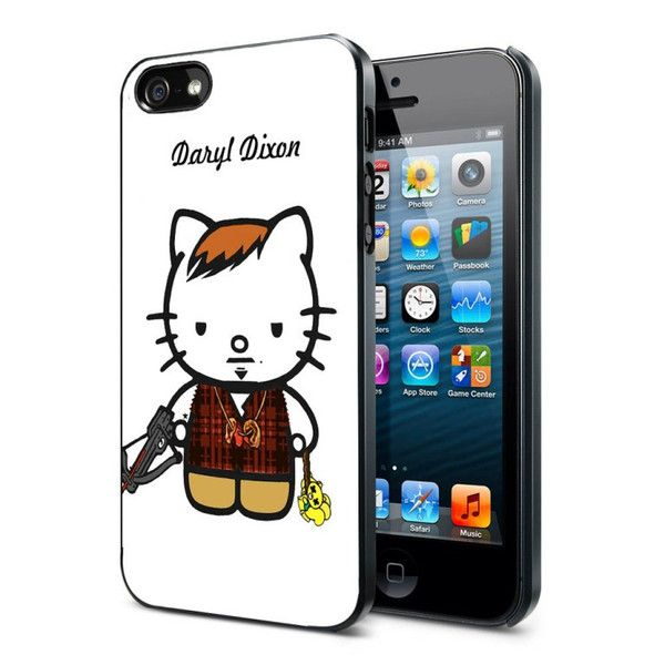 Daryl Dixon Kitty iPhone Case and Samsung Galaxy Case Available for iPhone Case iPad Case iPod Case Samsung Galaxy Case Galaxy Note Case HTC Case Blackberry Case,were ready for rubber and hard plastic material, Ready for the new one iPhone 6