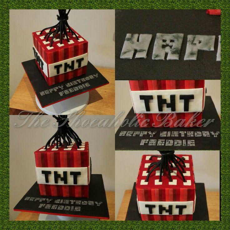 Minecraft TNT cake Cake & Pastry Inspiration Pinterest ...