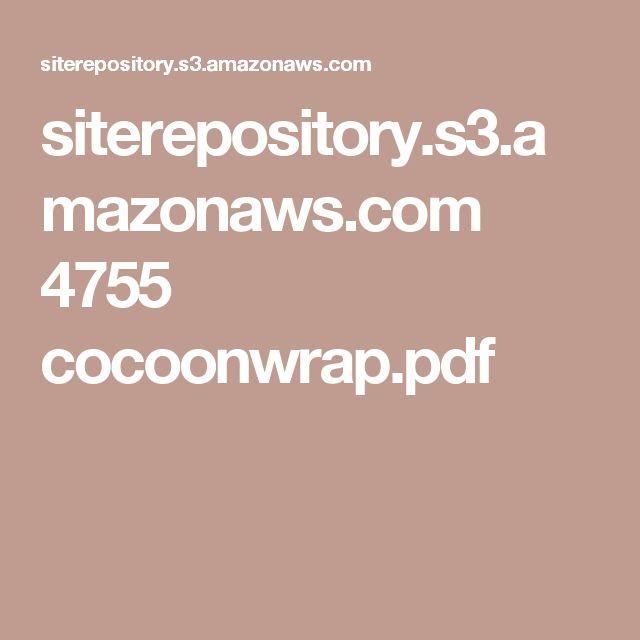 siterepository.s3.amazonaws.com 4755 cocoonwrap.pdf