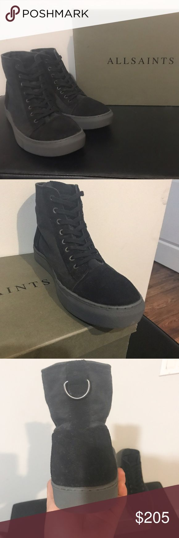 All Saints Men's Boots (worn once) Perfect condition. Made by All Saints. Men's size 44 (10.5 USA). Comes with original box. Paid $340 for them All Saints Shoes Boots