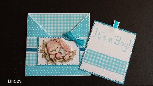 Congratulations it's a Boy. 3d picture by Yvonne Creations