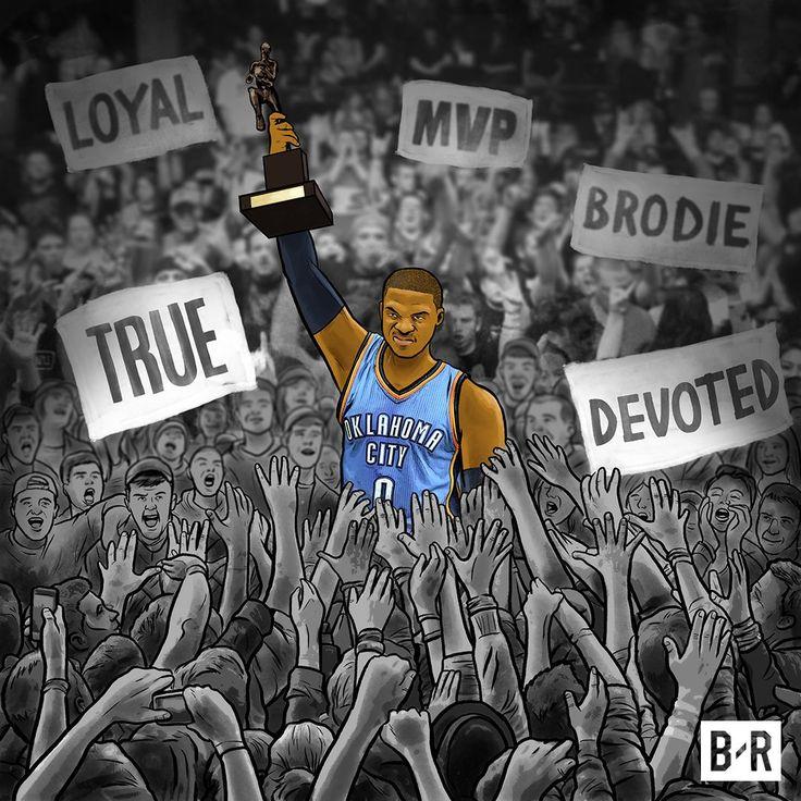 """""""Russell Westbrook. MVP."""""""