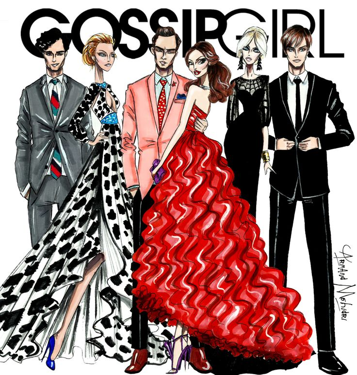 Gossip Girl Collection - by Armand Mehidri Who was your favorite?