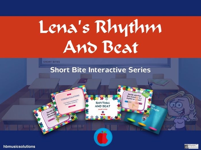Lena's Music Rhythm And Beat Short Bite Interactive Tutorial And Quiz