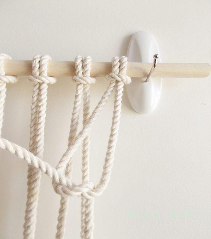 Best 25 Macrame Wall Hanging Diy Ideas On Pinterest