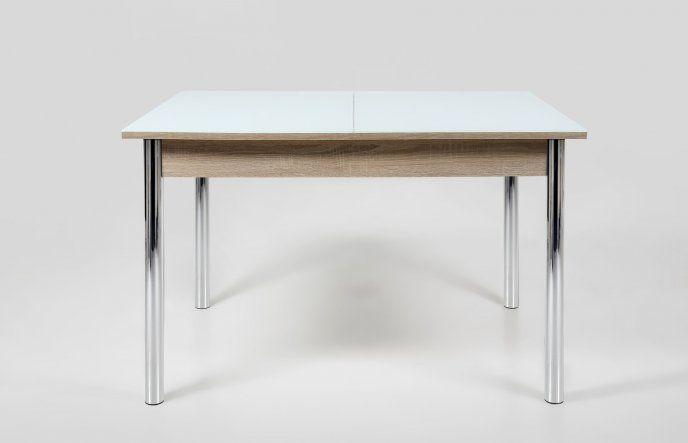 Szklany stół rozkładany 120/155x85 cm 0000050111 - Sanit-Express™