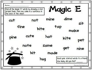 Printables Silent E Worksheets activities silent e and worksheets on pinterest