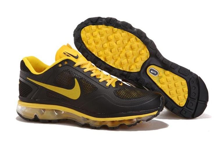 Nike Air Trainer 1.3 Max Breathe Men\u0027s Training Shoes 512241 070  Brown/Yellow