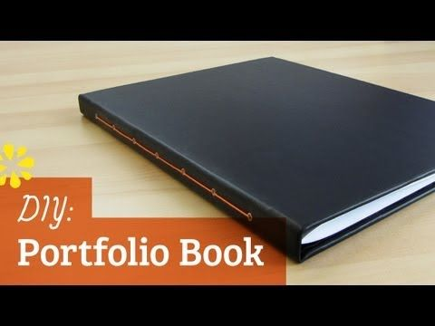 Designers, artists and photographers — here's a tutorial on how to make your own portfolio book. Watch it here: http://www.youtube.com/watch?v=m4UMp7U_3Ow