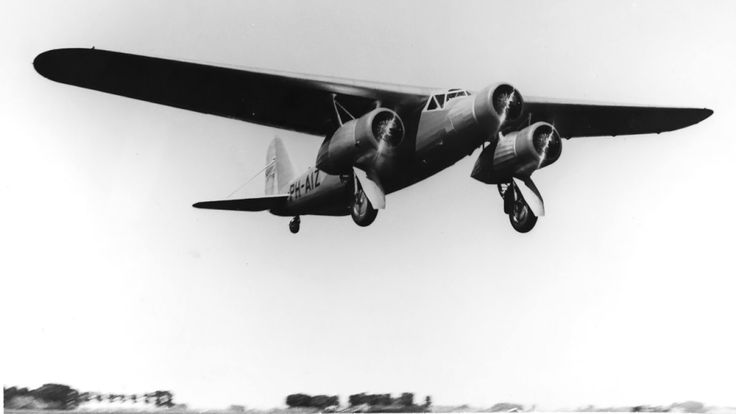 Fokker FXX takeoff