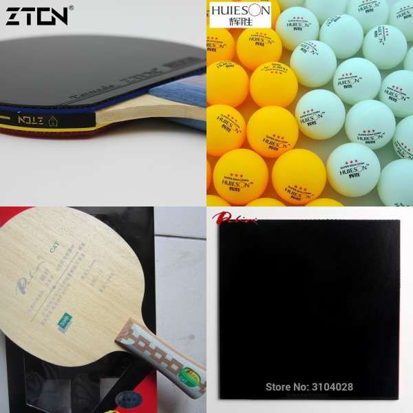 Palio Official T 3 T3 Table Tennis Blade Carbon Blade Fast Attack With Loop Attached Blade Palio Blade Racket Ping Pong Avec Images