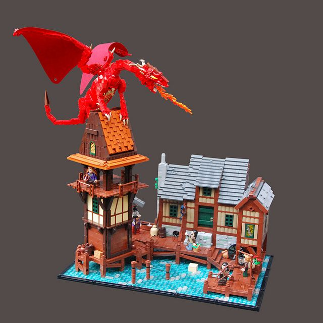 Fire and Water by Legopard, via Flickr