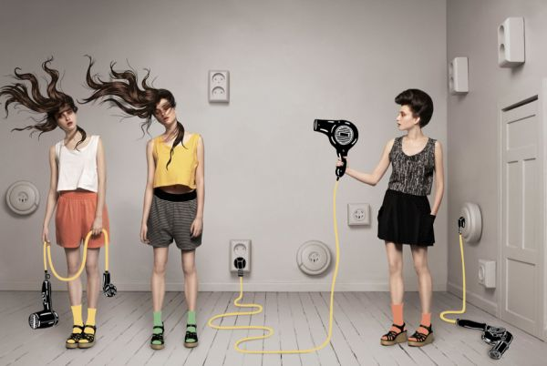 work of Aorta, and since then they have produced some pretty amazing work, specifically these productions for Monki. I love the humor and fantasy in these images. Using photography, illustration, and photoshop they have created these amazing environments, that you could only wish to jump into.