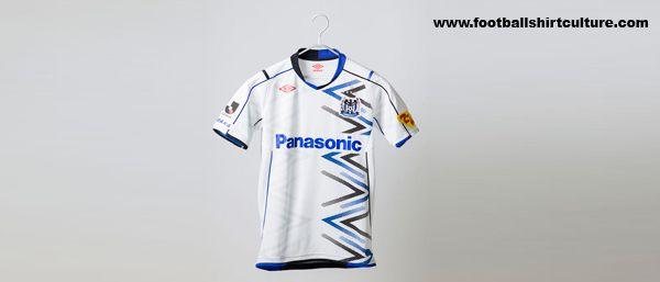 Gamba Osaka 2014 Umbro Away Football Shirt
