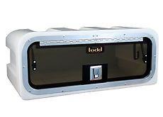"Todd Electronics Box -T-Top Radio - 24"" x 14"" x 10"" w/ Stainless Steel hinge - 95-1925"
