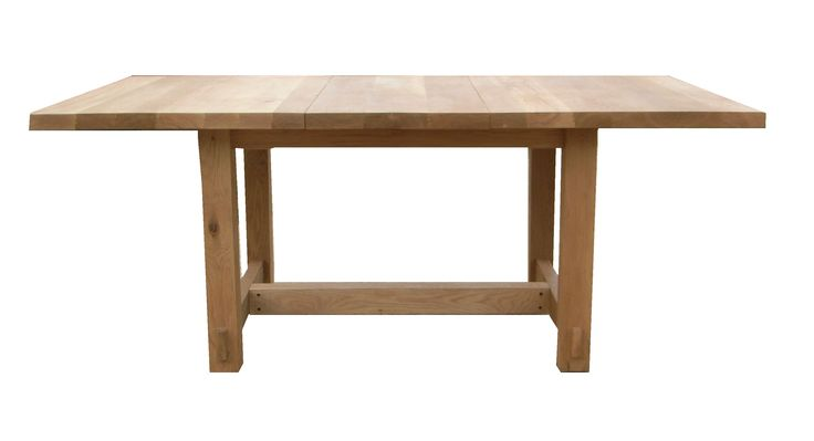 Custom extending Dhoya table in white oak. Seats four to six without the leaf ... and ten when extended!!! This piece now 'lives' in Canada!