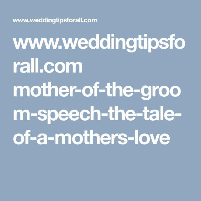 Weddingtipsforall Mother Of The Groom Speech