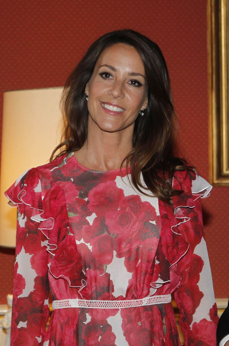 "Princess Marie of Denmark presented 2017 ""Prix littéraire des Ambassadeurs"" award with a ceremony held at the French embassy on 8 June 2017 in Copenhagen, Denmark."