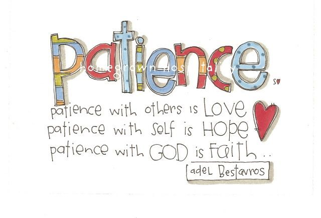 patience . . . Word art quotes, Words quotes