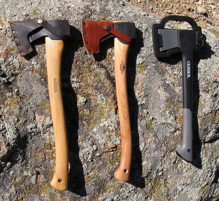 Gransfors Bruks Small Forest Axe Review, Wetterlings Large Hunting Axe Review, Gerber Camp Axe II Review