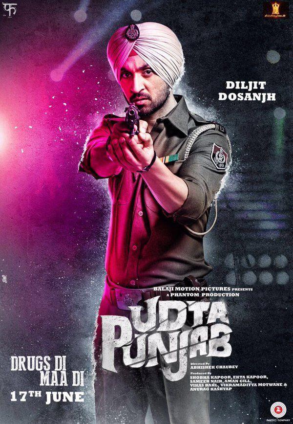 Udta Punjab Poster - Diljit Dosanjh