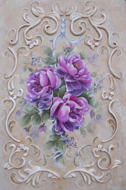 Peonie painting Jonny Petros