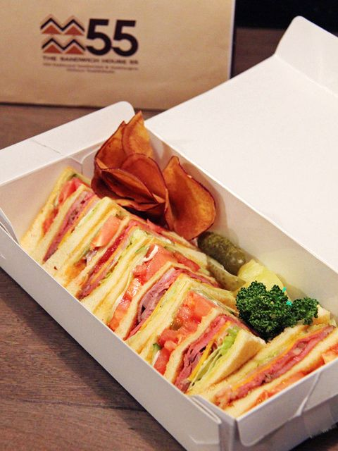 Tokyo Sandwiches : 【THE SANDWICH HOUSE 55/ザ サンドイッチ ハウス フィフティーファイブ】ニューヨークの街角にあるような雰囲気が目印!