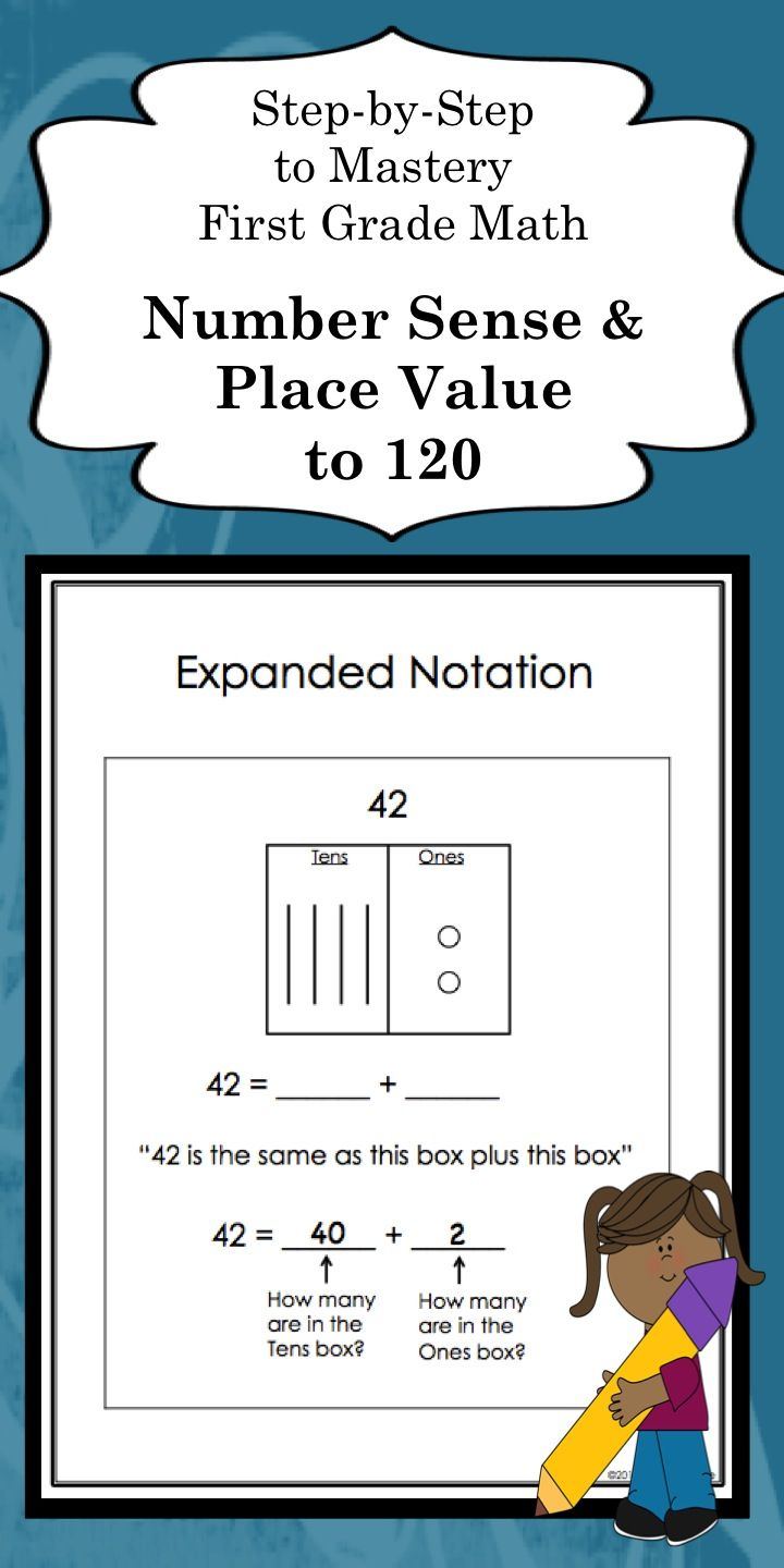how to teach place value to grade 1 students