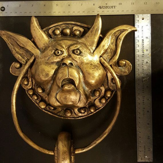 Welcome Visitors With These Labyrinth Door Knockers